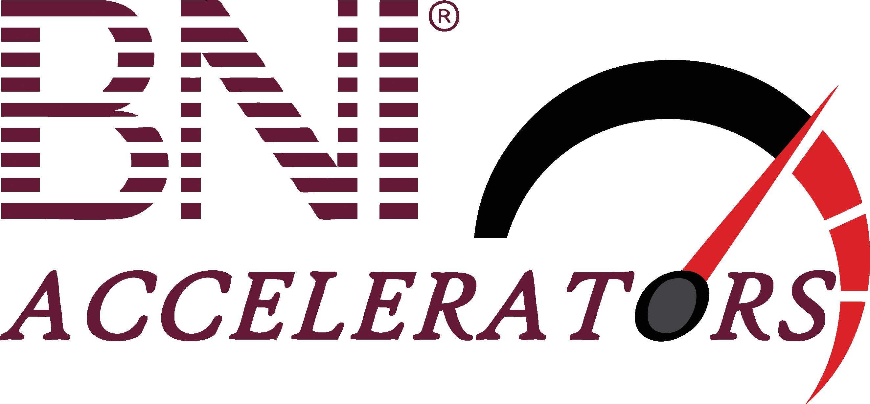 BNI Accelerators Logo - Maroon