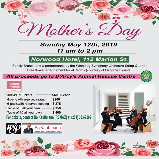 2019 Mothers Day Brunch & Fundraiser